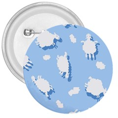 Vector Sheep Clouds Background 3  Buttons by Nexatart