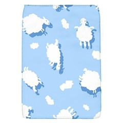 Vector Sheep Clouds Background Flap Covers (s)  by Nexatart
