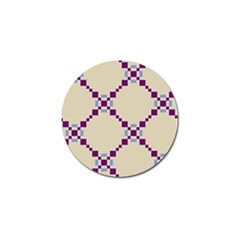 Pattern Background Vector Seamless Golf Ball Marker (10 Pack)