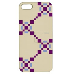 Pattern Background Vector Seamless Apple Iphone 5 Hardshell Case With Stand by Nexatart