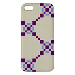 Pattern Background Vector Seamless Iphone 5s/ Se Premium Hardshell Case by Nexatart