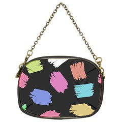 Many Colors Pattern Seamless Chain Purses (two Sides)  by Nexatart