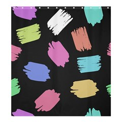 Many Colors Pattern Seamless Shower Curtain 66  X 72  (large)  by Nexatart