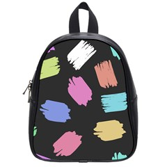 Many Colors Pattern Seamless School Bags (small)  by Nexatart