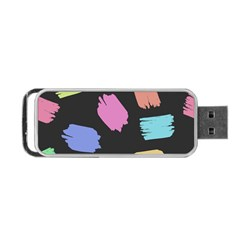 Many Colors Pattern Seamless Portable Usb Flash (two Sides) by Nexatart