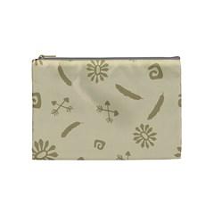 Pattern Culture Seamless American Cosmetic Bag (medium)  by Nexatart