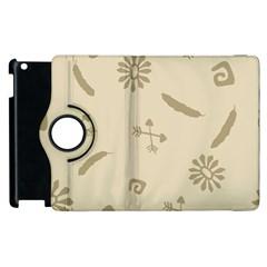 Pattern Culture Seamless American Apple Ipad 2 Flip 360 Case by Nexatart