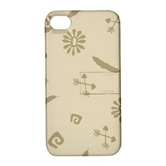 Pattern Culture Seamless American Apple Iphone 4/4s Hardshell Case With Stand by Nexatart