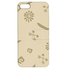 Pattern Culture Seamless American Apple Iphone 5 Hardshell Case With Stand by Nexatart