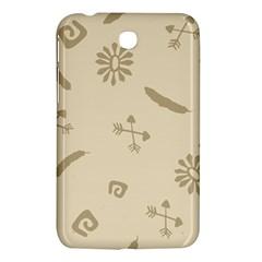 Pattern Culture Seamless American Samsung Galaxy Tab 3 (7 ) P3200 Hardshell Case  by Nexatart