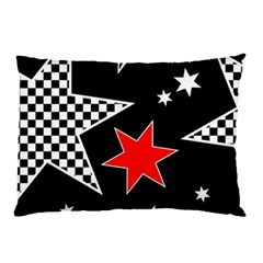 Stars Seamless Pattern Background Pillow Case (two Sides) by Nexatart