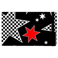 Stars Seamless Pattern Background Apple Ipad 2 Flip Case by Nexatart