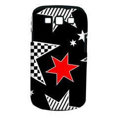 Stars Seamless Pattern Background Samsung Galaxy S Iii Classic Hardshell Case (pc+silicone) by Nexatart