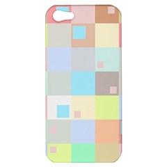 Pastel Diamonds Background Apple Iphone 5 Hardshell Case by Nexatart