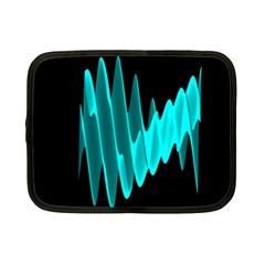 Wave Pattern Vector Design Netbook Case (small)  by Nexatart