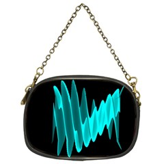 Wave Pattern Vector Design Chain Purses (one Side)  by Nexatart