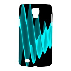 Wave Pattern Vector Design Galaxy S4 Active by Nexatart