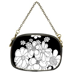 Mandala Calming Coloring Page Chain Purses (one Side)  by Nexatart