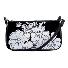 Mandala Calming Coloring Page Shoulder Clutch Bags by Nexatart