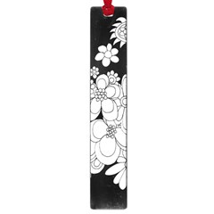 Mandala Calming Coloring Page Large Book Marks by Nexatart
