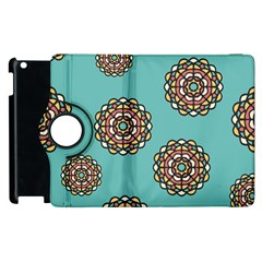 Circle Vector Background Abstract Apple Ipad 2 Flip 360 Case by Nexatart
