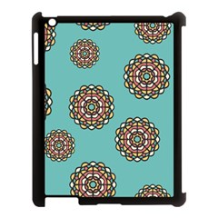 Circle Vector Background Abstract Apple Ipad 3/4 Case (black) by Nexatart