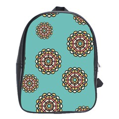 Circle Vector Background Abstract School Bags (xl)  by Nexatart