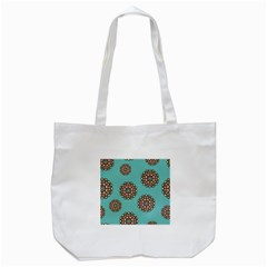 Circle Vector Background Abstract Tote Bag (white) by Nexatart