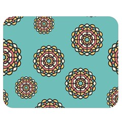Circle Vector Background Abstract Double Sided Flano Blanket (medium)  by Nexatart
