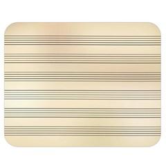Notenblatt Paper Music Old Yellow Double Sided Flano Blanket (medium)  by Nexatart