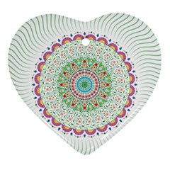 Flower Abstract Floral Ornament (heart) by Nexatart