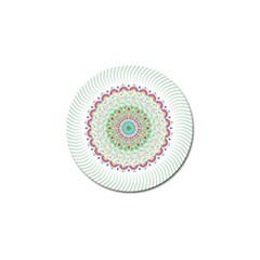 Flower Abstract Floral Golf Ball Marker (10 Pack) by Nexatart