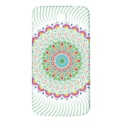 Flower Abstract Floral Samsung Galaxy Mega I9200 Hardshell Back Case by Nexatart