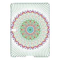 Flower Abstract Floral Samsung Galaxy Tab S (10 5 ) Hardshell Case  by Nexatart