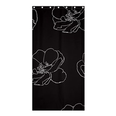 Rose Wild Seamless Pattern Flower Shower Curtain 36  X 72  (stall)  by Nexatart