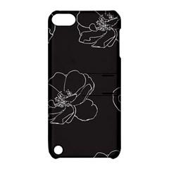 Rose Wild Seamless Pattern Flower Apple Ipod Touch 5 Hardshell Case With Stand by Nexatart