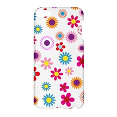 Floral Flowers Background Pattern Apple Ipod Touch 5 Hardshell Case by Nexatart