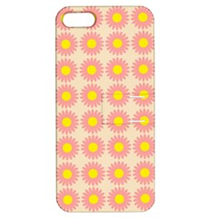 Pattern Flower Background Wallpaper Apple Iphone 5 Hardshell Case With Stand by Nexatart