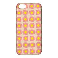Pattern Flower Background Wallpaper Apple Iphone 5c Hardshell Case by Nexatart