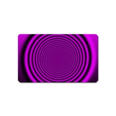 Background Coloring Circle Colors Magnet (name Card) by Nexatart