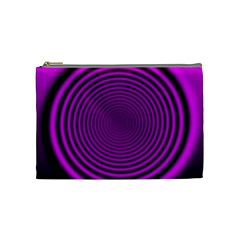 Background Coloring Circle Colors Cosmetic Bag (medium)  by Nexatart