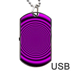 Background Coloring Circle Colors Dog Tag Usb Flash (two Sides) by Nexatart