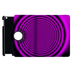 Background Coloring Circle Colors Apple Ipad 2 Flip 360 Case by Nexatart