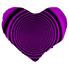 Background Coloring Circle Colors Large 19  Premium Heart Shape Cushions by Nexatart