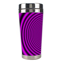 Background Coloring Circle Colors Stainless Steel Travel Tumblers by Nexatart