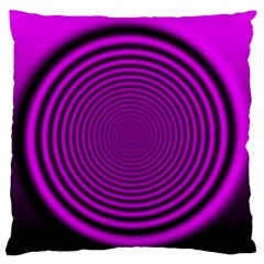 Background Coloring Circle Colors Large Flano Cushion Case (two Sides)