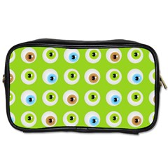 Eyes Background Structure Endless Toiletries Bags by Nexatart