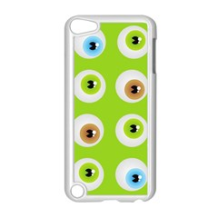 Eyes Background Structure Endless Apple Ipod Touch 5 Case (white) by Nexatart