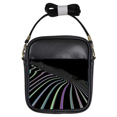 Graphic Design Graphic Design Girls Sling Bags by Nexatart