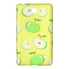 Apples Apple Pattern Vector Green Samsung Galaxy Tab 4 (7 ) Hardshell Case  by Nexatart